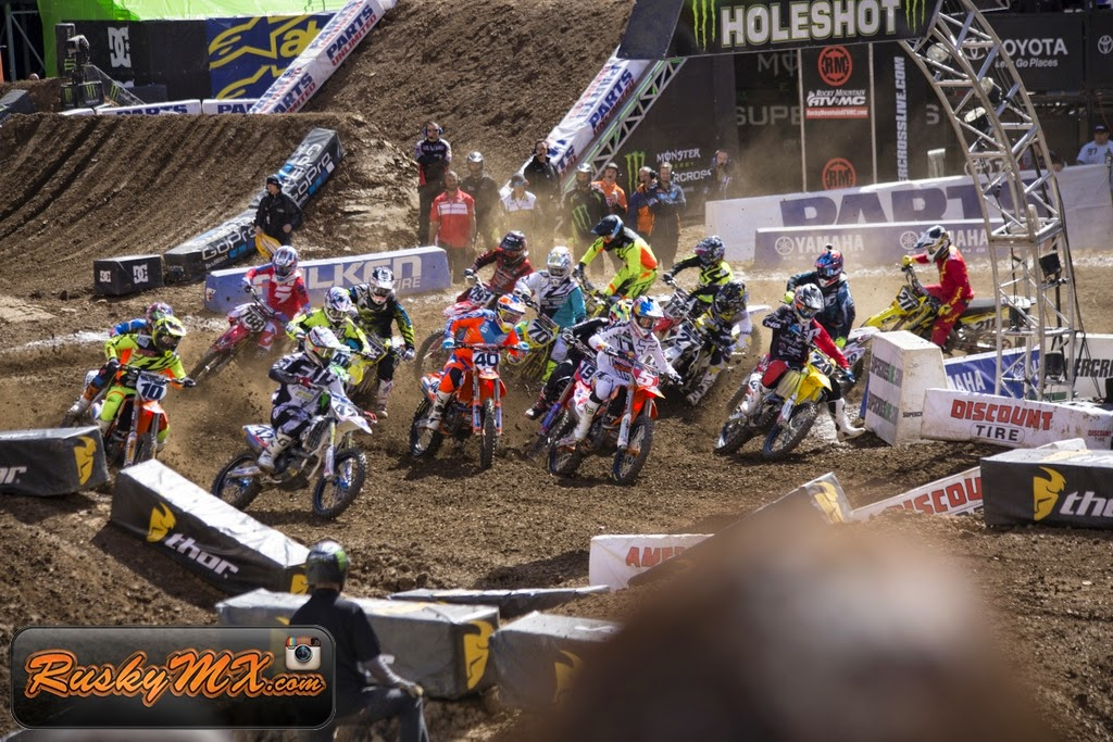 450 Heat 1 Start Metlife SX 2015