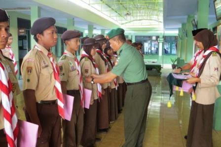 Puluhan Anggota Pramuka Ikuti Penyematan TKK