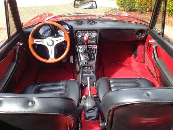 1980 Alfa Romeo Spider Custom Sport Convertible Coupe