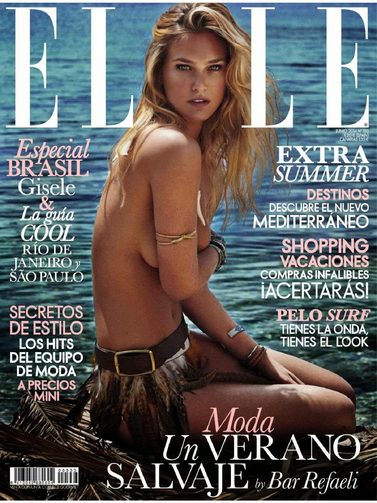 Bar Refaeli - Hot Photoshoot for Elle Spain Magazine