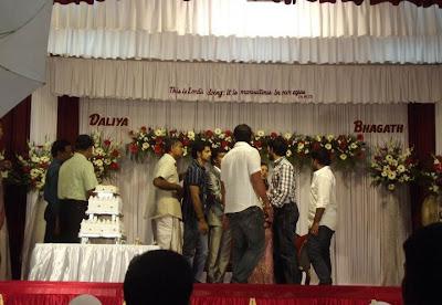 Bhagath Manuel Engagement Photos show stills