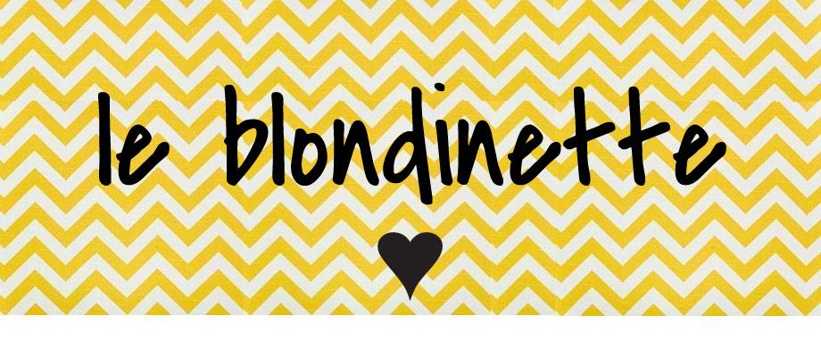 le blondinette