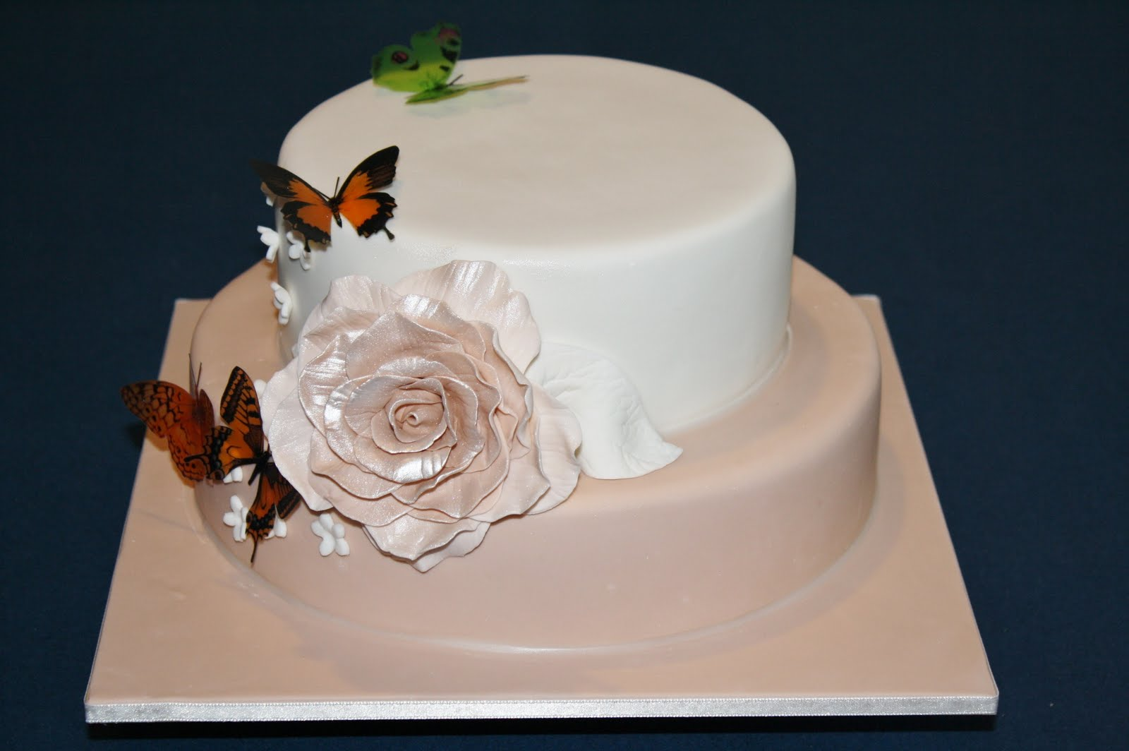 Birthday Cakes Beautiful Pictures ~ Sandy's cakes: beautiful jody's 40th birthday cake