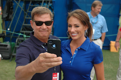 Here are some random shots of Holly Sonders from the 2012 Wyndham