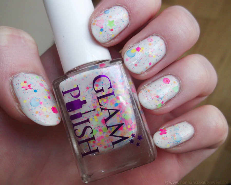 Glam Polish Blibber Blubber, swatches, indie polish UK