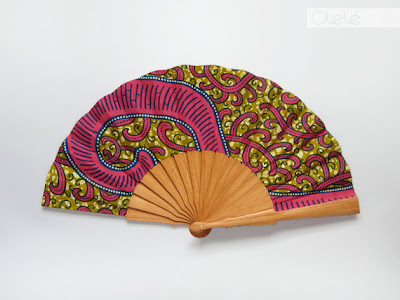 Olele hot pink wax fan - iloveankara.blogspot.co.uk