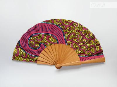 Olele hot pink wax fan - iloveankara.blogspot.co.uk