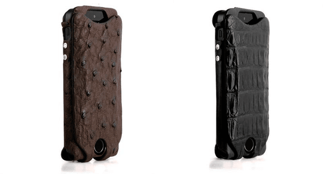 Orbino Pantra 6 Cases in Ostrich & Crocodile Skin iphone 6