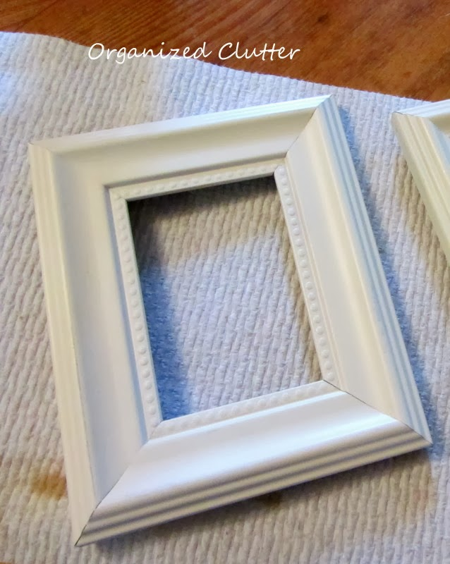 this framed is from the dollar tree i painted it white a few months ago for a project that i never completed a fail - Dollar Tree Frames