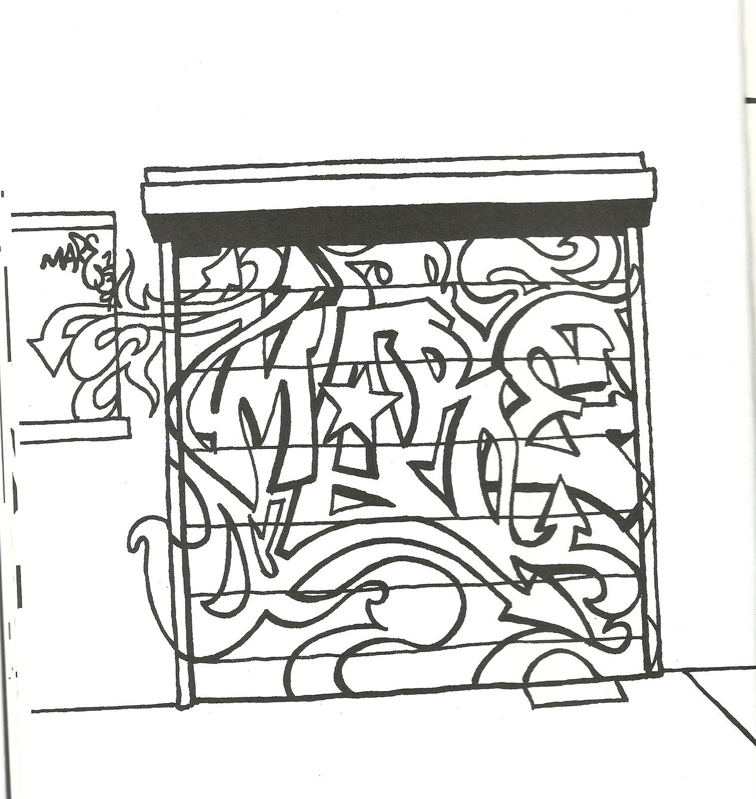 Disegni da colorare disegni da colorare street art for Disegni da colorare di case