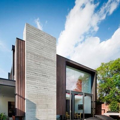 Fachadas de casas modernas todo para dise ar una hermosa - Materiales para fachadas modernas ...