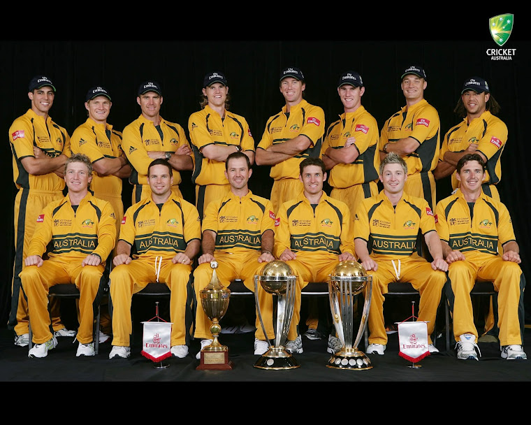 Australia Cricket Team!