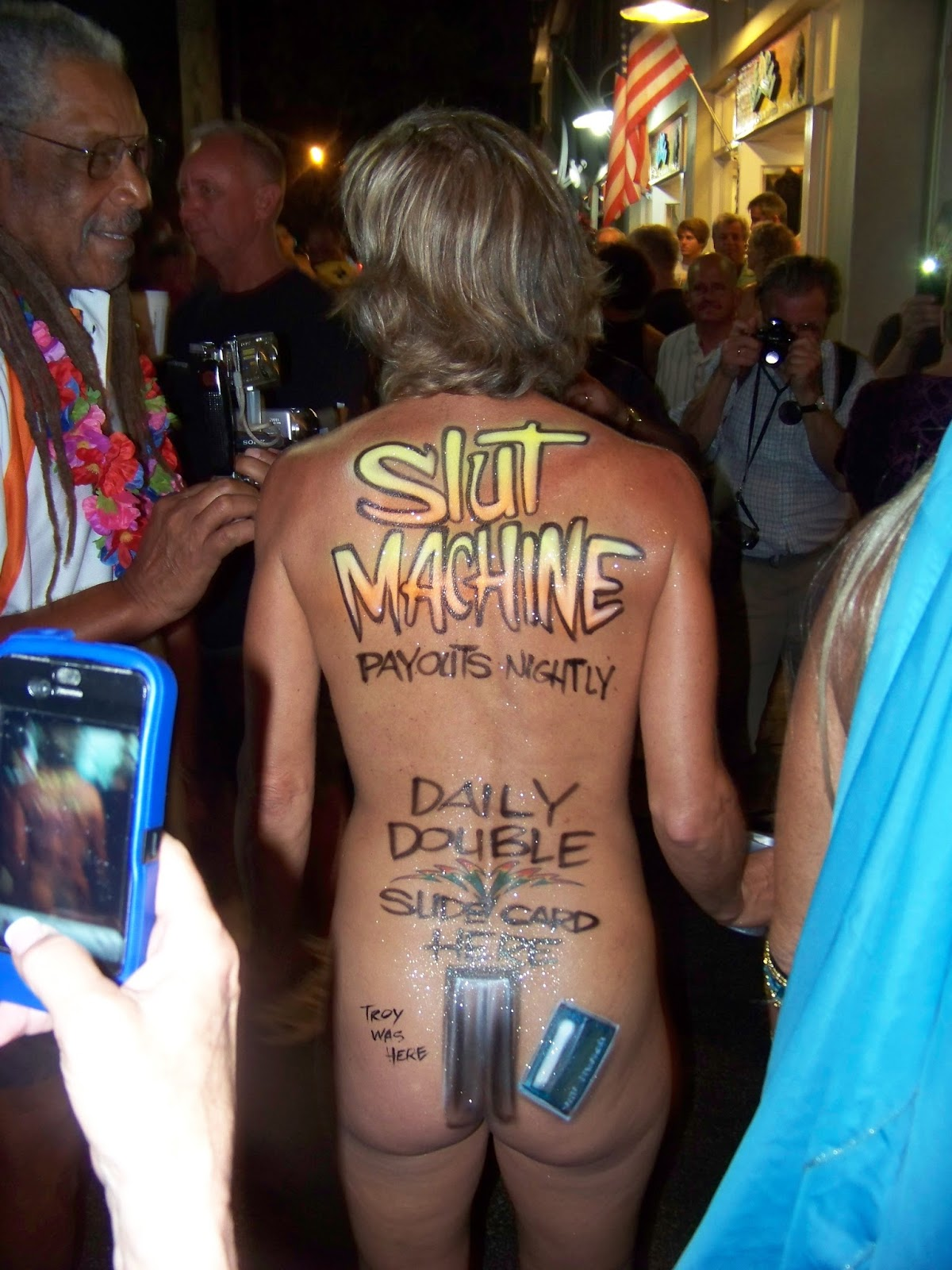 sturgis body painted girls