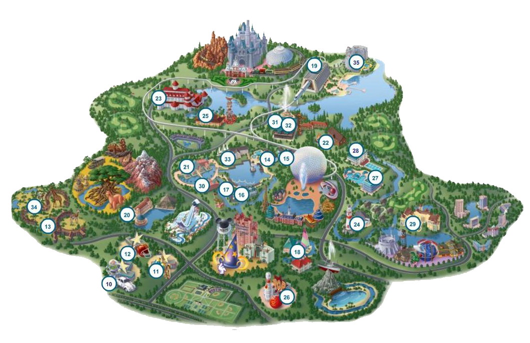 ... map walt disney world map walt disney world maps 2013 printable disney