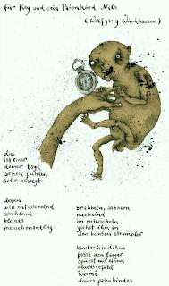 Kay Voigtmann zu einem Gedicht von Wolfgang Windhausen Kay Eisenacher und seinem Patenkind gewidmet, 2005