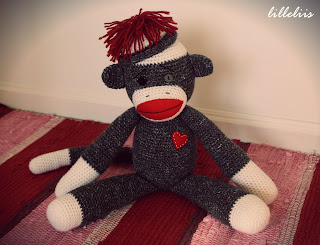free sock monkey pattern