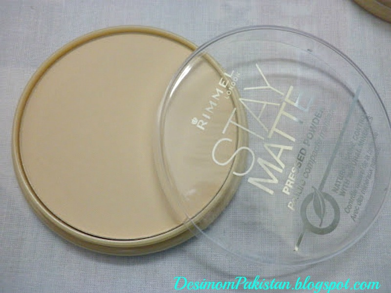 RIMMEL STAY MATTE PREESED POWDER In TRANSPARENT