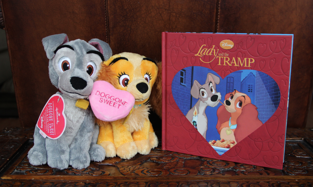 Hallmark Lady and the Tramp Plush and Book - Diana #LoveHallmarkCA