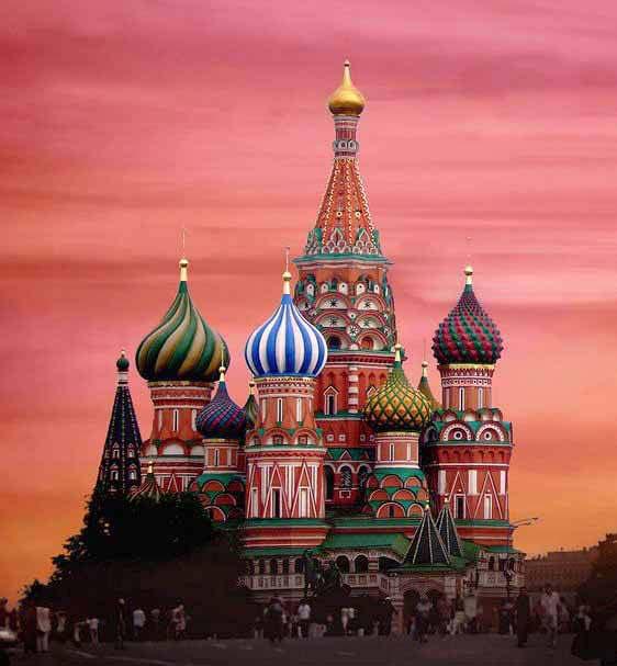 Catedral de São Basílio - Rússia