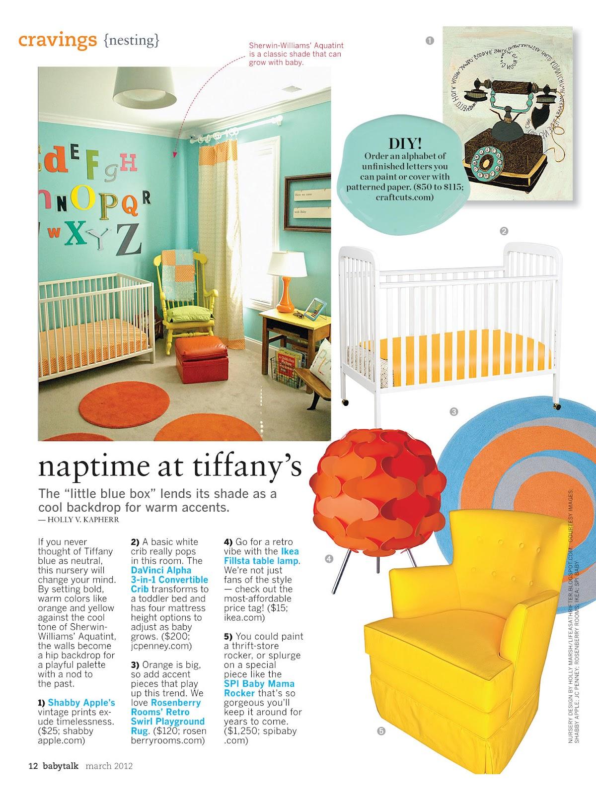 Life as a Thrifter: Babytalk Magazine