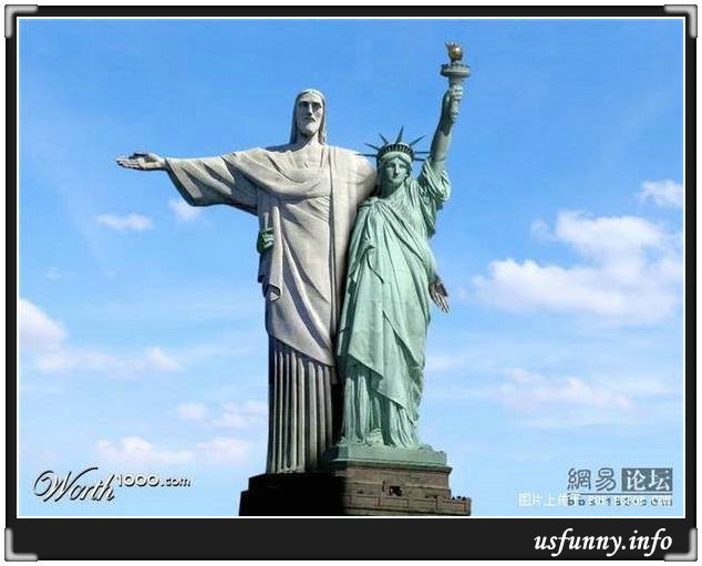 Funny Statue Liberty