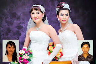 Pengantin Livia salon Nabire Papua | Livia Salon make up pengantin