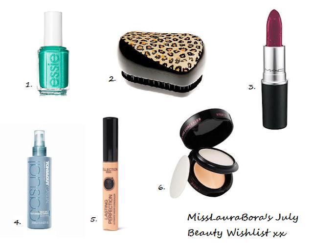 July Beauty Wishlist!