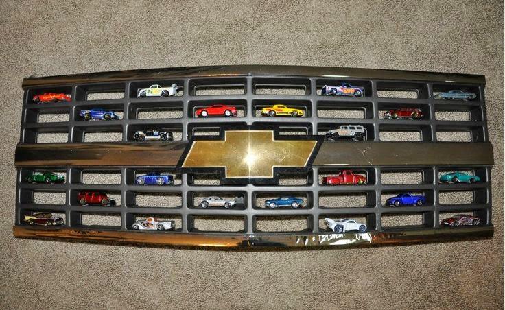 Race Track Wall Art >> Hot Wheels Racing League: Hot Wheels Display - Chevy Grill