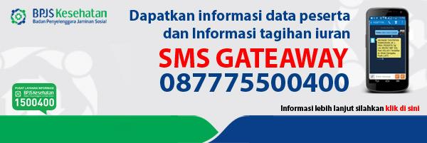Cek Tagihan BPJS Kesehatan Lewat SMS Gateway
