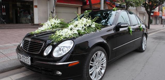 Xe cưới Mercedes E500 4matic