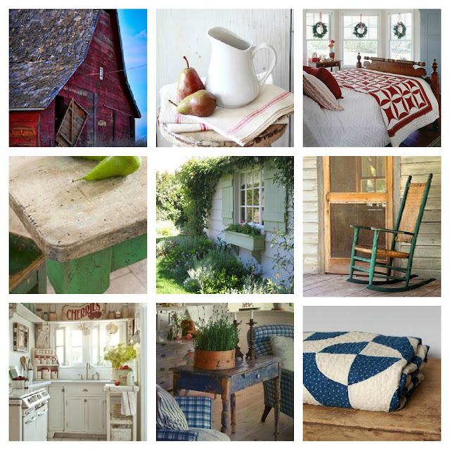 moodboard country & cottage styles