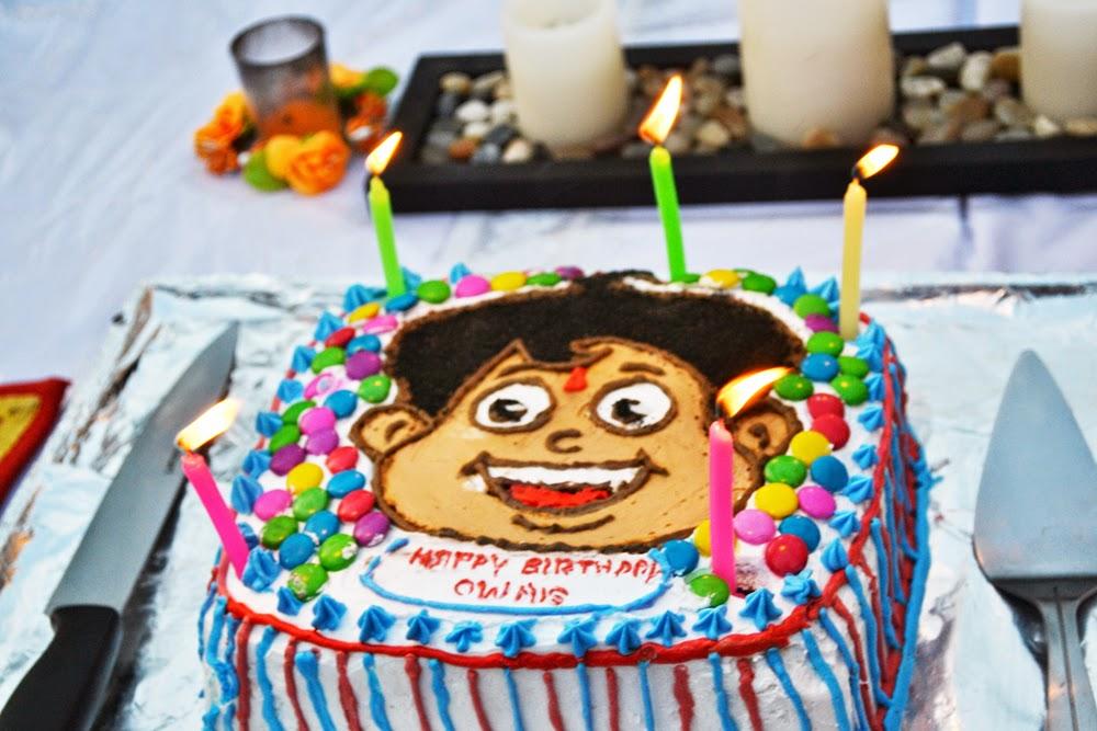 Chota Bheem Images For Birthday Cake : Chota Bheem Chutki Cake Ideas and Designs
