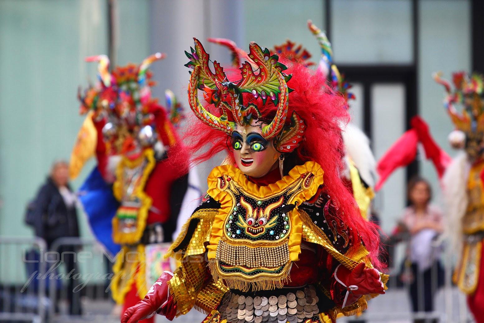 Carnaval De Oruro Bolivia 2015 - morenada Boliviana