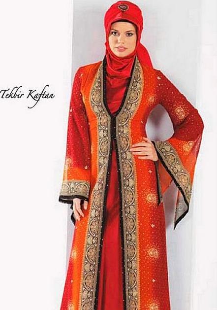 Gambar Model Hijab Ala Turki Terbaru Januari 2017