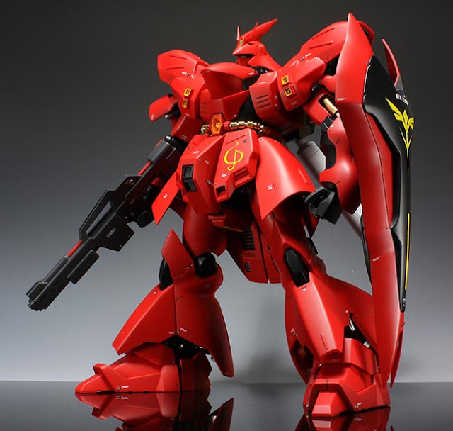 MG Sazabi review
