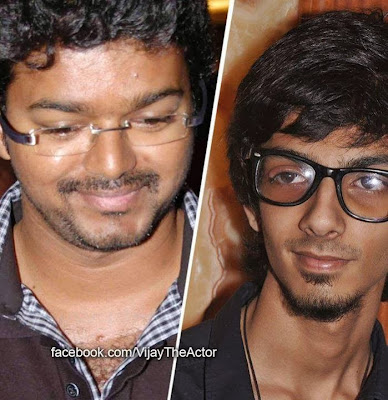 Anirudh happy to tune for Vijay's film