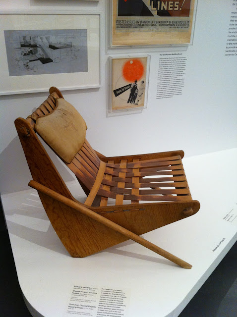 LACMA CA modernism neutra chair