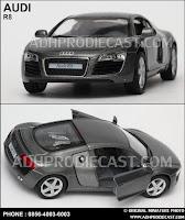 Miniatur Mobil Audi R8 (Grey)