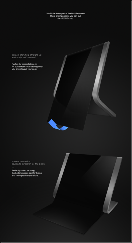 Samsung Bend Tablet Concept