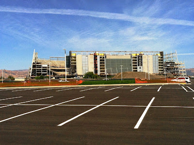 Santa Clara CA: Levi Stadium, New Home of 49ers and Superbowl 50