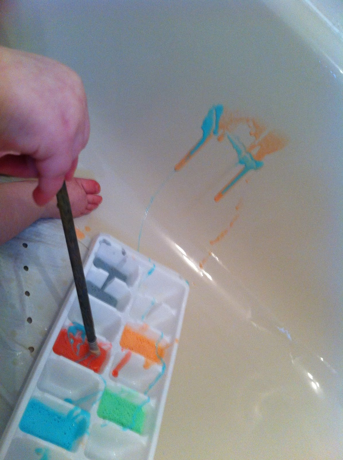 Addicted To Turquoise: DIY Bathtub Paint