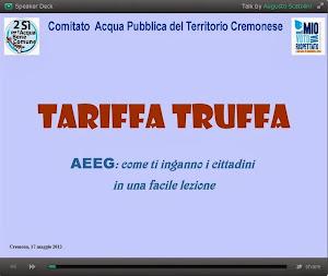 Acqua Tariffa Truffa