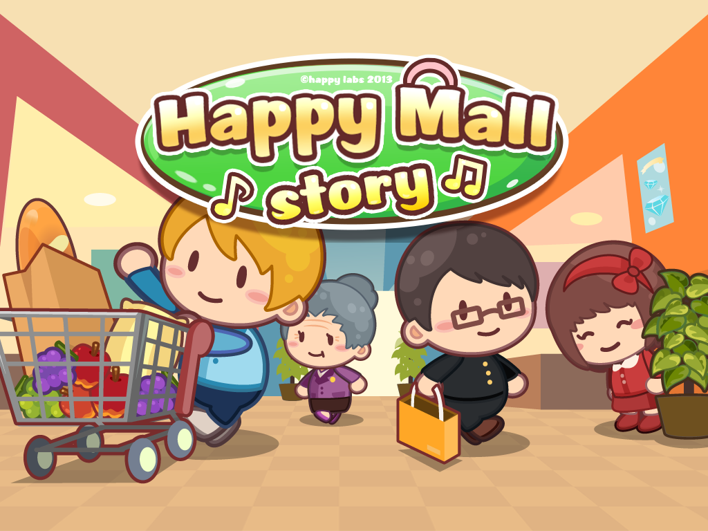 Happy Mall Story MOD APK v1.1.2 (1.1.2) (Mod Unlimited Golds and Crystals)