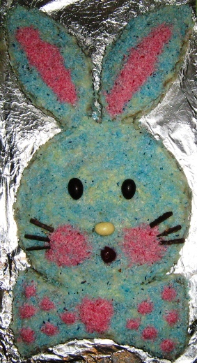 торт в виде зайчика