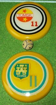Os botões especiais, grandes e de Luxo da Brianezi