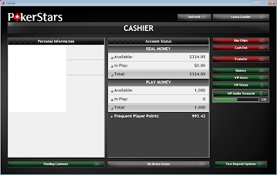 pokerstars bankroll