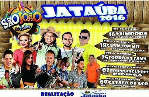 São João Jataúba 2016 - Jataúba-PE
