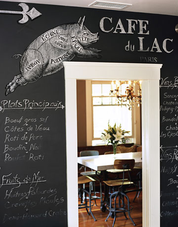 Boiserie & c.: pittura effetto lavagna   chalk board paint: 26 idee