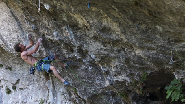 Climbed in Gorges du Loup