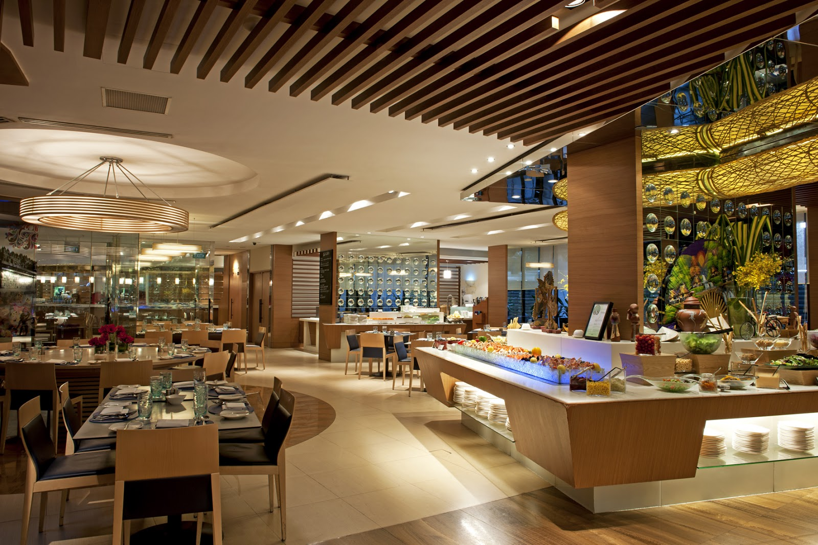 The halal food blog ramadhan special 2013 aquamarine ft - Hotel mandarin restaurante ...
